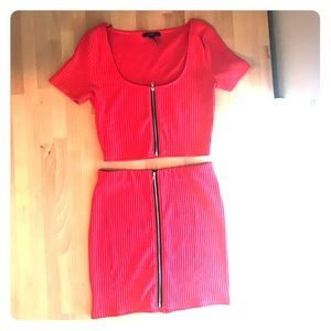 Brand New - 2 Piece Set - Skirt and matching Top